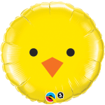 Easter Chick Foil Balloon